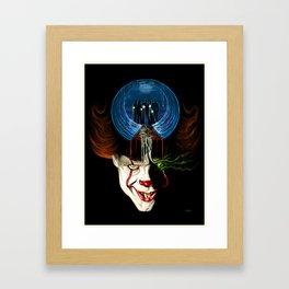 We All Float Down Here Framed Art Print