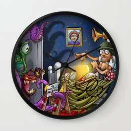 Monsters - AWWM Wall Clock