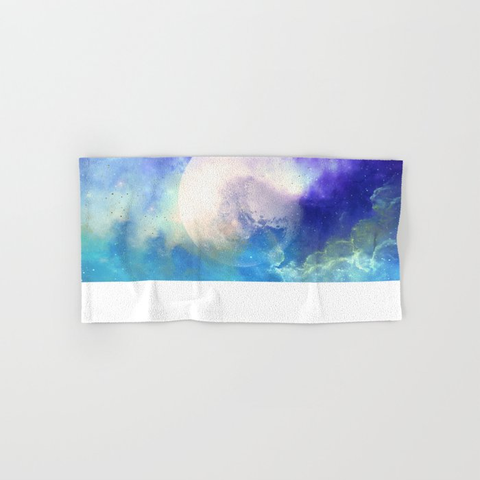 Silver Moon Hand & Bath Towel