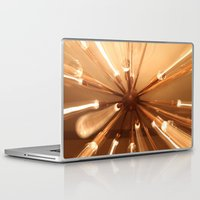 chandelier Laptop & iPad Skins featuring chandelier by Chris Cooch