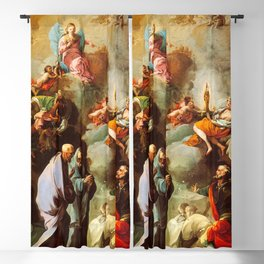Francisco de Goya - Apparition of the Virgin of Pilar to Santiago and his disciples Zaragoza Blackout Curtain