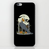 nouveau iPhone & iPod Skins featuring Halloween Nouveau by Perdita