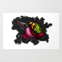 Bioshock Kirby Art Print
