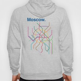 Moscow Transit Map Hoody