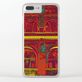 HOTEL DU ROUGE Clear iPhone Case