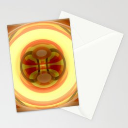 Spacetime path Stationery Cards