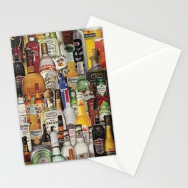 Beer Me Collage Stationery Cards