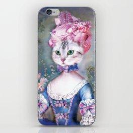 Marie Antoinette Kitty iPhone Skin