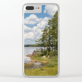 Just Sweden Clear iPhone Case