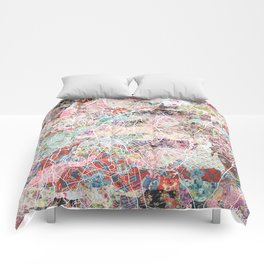 Brussels map Comforters