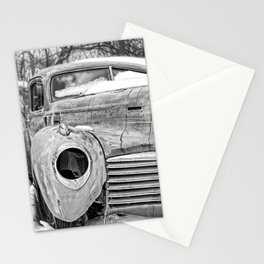 Old Hudson in the Snow Stationery Cards