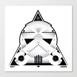 501st legion Canvas Print