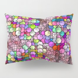 Artistic Cubes 03 candy Pillow Sham