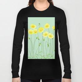 Yellow Wildflowers II Long Sleeve T-shirt