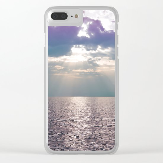 Kiss in the Lake Clear iPhone Case