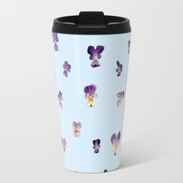 Johnny Jump Up (BLUE) Travel Mug