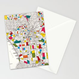 Los Angeles Streets Stationery Cards