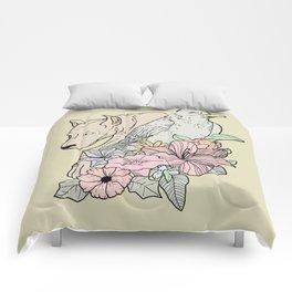 si canem corvus Comforters