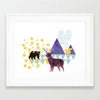 wildlife Framed Art Prints featuring wildlife by the coulsons