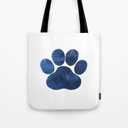 Dog Paw Tote Bag