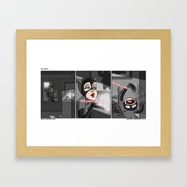 The Heist Framed Art Print