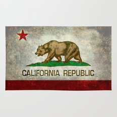 State flag of California Rug