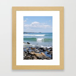 Maine Framed Art Print