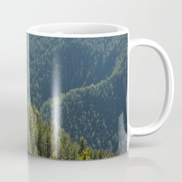 Mt. Storm King Trees Olympic National Park Washington Coffee Mug