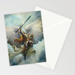 Serra Angel Stationery Cards