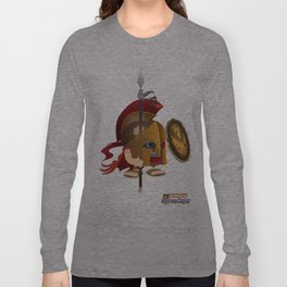 Romulus soldier stand Long Sleeve T-shirt