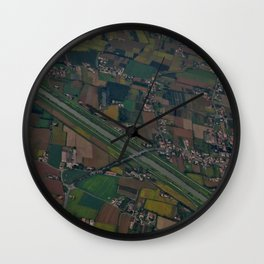 Flying over Venice Wall Clock