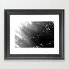 Comfortable glow Framed Art Print
