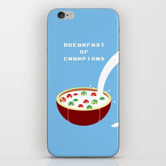Breakfast of Champions iPhone & iPod Skin