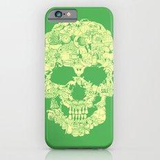 Clip Art Skull iPhone 6s Slim Case