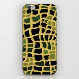 Snake print iPhone Skin