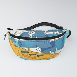 Pirate Ship Fanny Pack