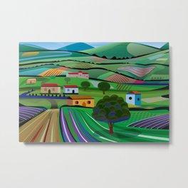 Santa Barbara Farms Metal Print