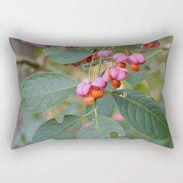 Spindle Tree (Euonymous europaeus) Rectangular Pillow