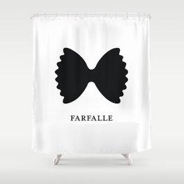 Pasta Series: Farfalle  Shower Curtain
