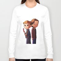 winchester Long Sleeve T-shirts featuring Winchester brothers by Kaori