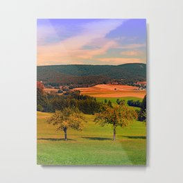Two rival trees Metal Print