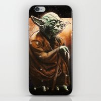 yoda iPhone & iPod Skins featuring Yoda by calibos