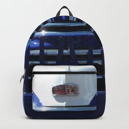 Nash, Grill, Truck, Old Nash Truck, Vintage Backpack