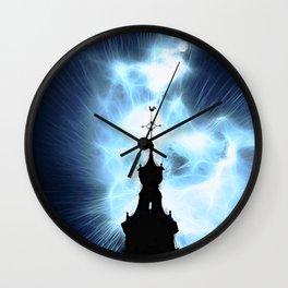 Set Fire To The Sky Wall Clock