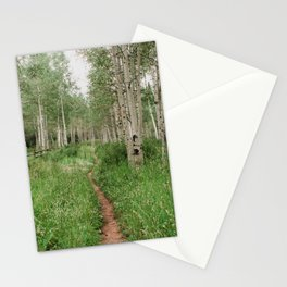 Wander Through The Aspen Forest Stationery Cards