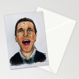 American Psycho - Patrick Bateman Stationery Cards
