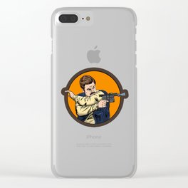 Ron Solo Clear iPhone Case