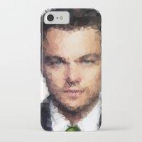leonardo dicaprio iPhone & iPod Cases featuring Leonardo DiCaprio by lauramaahs