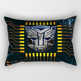 circuit autobot Rectangular Pillow