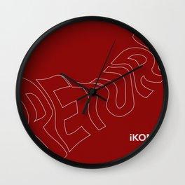 "iKON ""Return"" ""Love Scenario"" Wall Clock"
